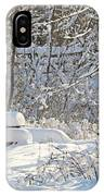 Fresh Snowfall  IPhone Case