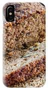 Fresh Zucchini Bread IPhone Case