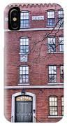 Freshman Dormitory-harvard University V2 IPhone Case
