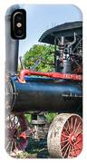 Frick Steam Tractor IPhone Case