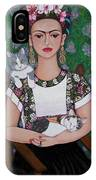 Frida Cat Lover  IPhone Case