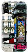 Frida In Paris IPhone Case