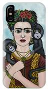 Frida In The Sky IPhone Case