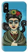 Frida's Monkey IPhone Case