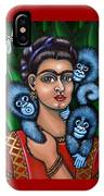 Fridas Triplets IPhone Case