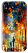 Friendship - Palette Knife Oil Painting On Canvas By Leonid Afremov IPhone Case