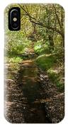 Frijole Creek Bandelier National Monument IPhone Case