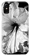 Frills And Hibiscus Flowers IPhone Case