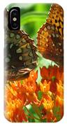 Fritillaries  IPhone Case