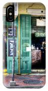 Fritzels Bar On Bourbon Street IPhone Case