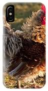 Frizzle Rooster IPhone Case