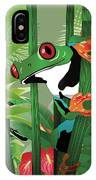 Frog 02 IPhone Case
