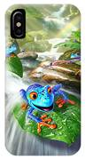 Frog Capades IPhone Case