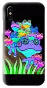Frog Family Too IPhone Case