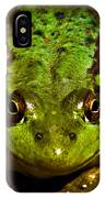 Frog In Mud IPhone Case