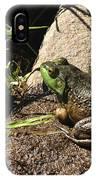 American Bull Frog IPhone Case