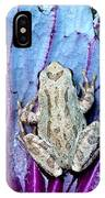 Frog On Cabbage IPhone Case