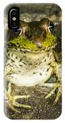 Frog Pose IPhone Case