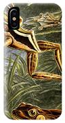 Frogs Detail IPhone Case