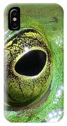 Frog's Eye IPhone Case