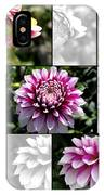 From Bud To Bloom - Dahlia Named Brian Ray IPhone Case