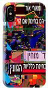 from Likutey Halachos Matanos 3 4 f IPhone Case