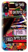 from Likutey Halachos Matanos 3 4 h IPhone Case