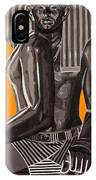 Front And Side Egyptian Pharoah IPhone Case