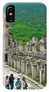 Front Of Theater In Ephesus-turkey IPhone Case