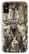 Frontispiece Of Large Game Shooting IPhone Case