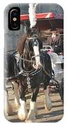 Frost Fair Horses Hastings IPhone Case
