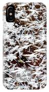 Frost Flakes On Ice - 03 IPhone Case