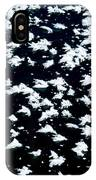 Frost Flakes On Ice - 18 IPhone Case