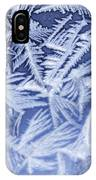 Frost In Blue IPhone X Case