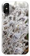 Frost In The Field IPhone Case