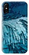 Frost Needles 2 IPhone Case