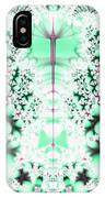 Frost On The Grass Fractal IPhone Case