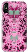 Frost On The Roses Fractal IPhone Case