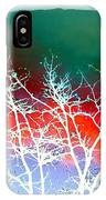 Frost Shrouded Tree IPhone Case