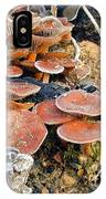 Frosted Cascading Mushrooms IPhone Case