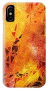 Frosted Fire IIi IPhone Case