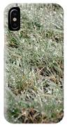 Frosted Grass IPhone Case