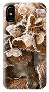 Frosted Hydrangea IPhone Case