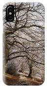 Frosted Path IPhone Case