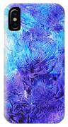 Frosted Window Abstract IIi IPhone Case