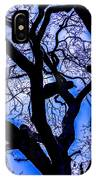 Frosty Blue Abstract IPhone Case