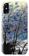 Frosty Fall Tree IPhone Case