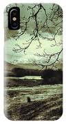 Frosty Morning At Glen'orchey   IPhone Case