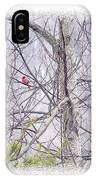 Frosty Morning Song IPhone Case