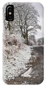 Frosty Road IPhone Case